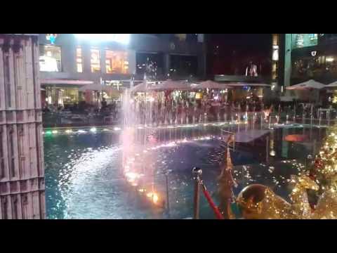 Capital Business Center Entrance Fountain