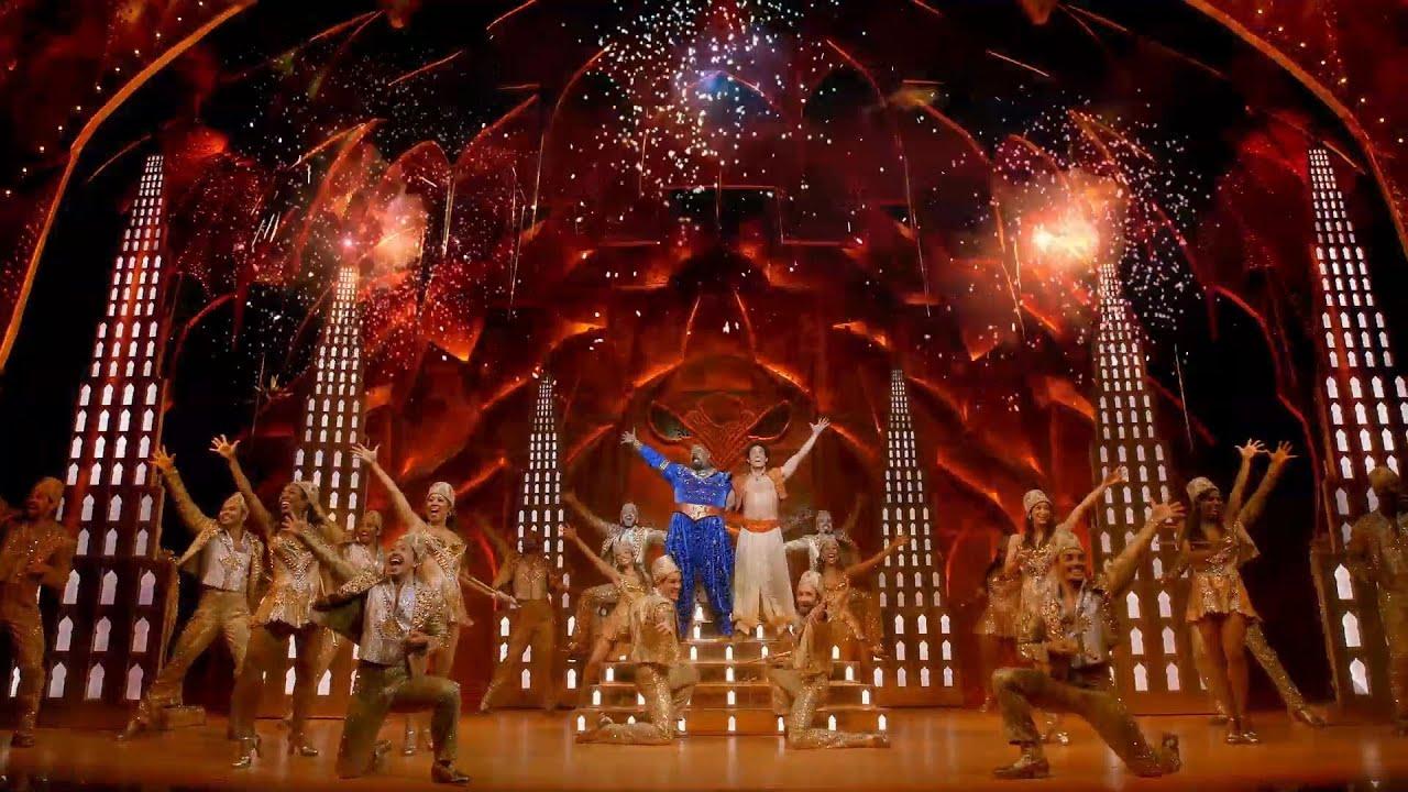 Peacock Wallpaper 3d Aladdin On Broadway Youtube