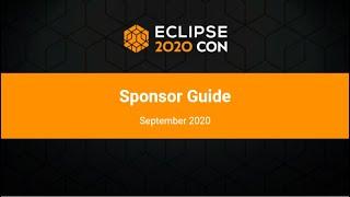 EclipseCon Sponsor Guide