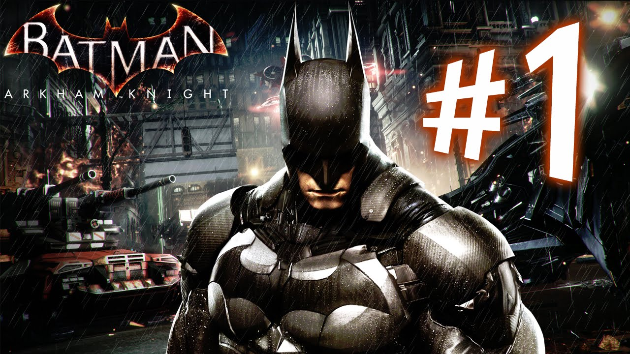 LUCKY SALAMANDER - Batman Arkham Knight - Parte 1: Guerra em Gotham City [ Playstation 4 - Playthrou