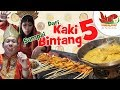 FOOD REVIEW INDONESIA : EPS #3 Kaki Lima Sampai Bintang Lima EXPERIENCE (PADANG)