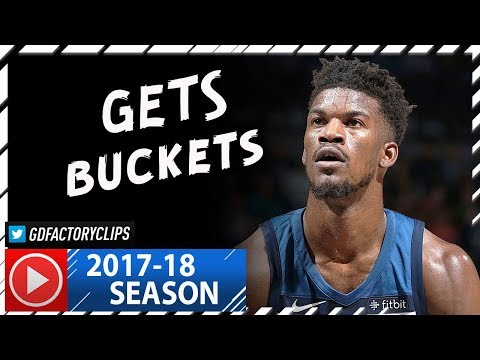 Jimmy Butler Full Highlights vs Thunder (2017.10.27) - 25 Pts, 7 Ast, CLUTCH!