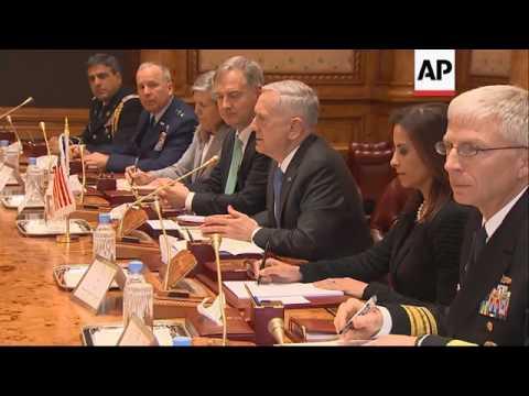 Mattis Has 'Good Meeting' With Saudi Royalty