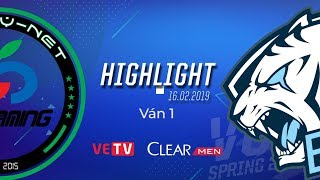 CR vs EVS Highlight [VCS Mùa Xuân 2019][16.02.2019]Ván 1