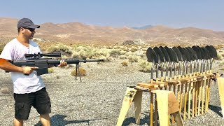How many Shovels does it take to stop a 50BMG Bullet?