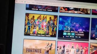 How to download HD wallpapers for fortnite pc /subscribe my channel