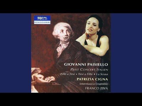 Petit concert Italien: Recitative: Ma qual nebbia profonda