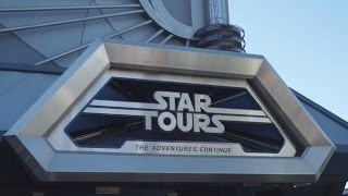 Star Tours - The Force Awakens Brand New Scene -  Season of the Force - Disneyland