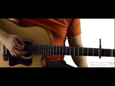 Sangria - Guitar Lesson and Tutorial - Blake Shelton