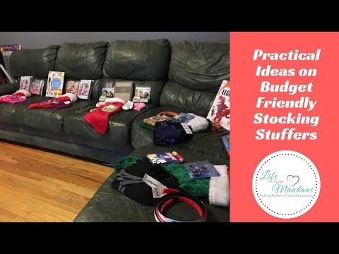 PRACTICAL IDEAS ON BUDGET FRIENDLY STOCKING STUFFERS