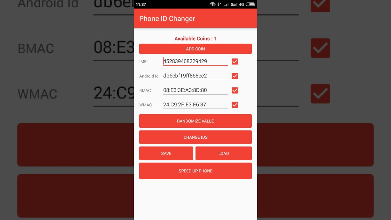 descargar xposed imei changer apk