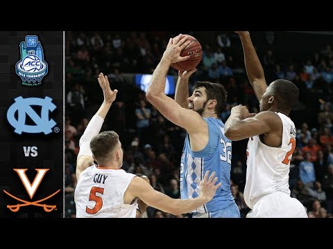 North Carolina vs. Virginia ACC Basketball Tournament Highlights (2018)