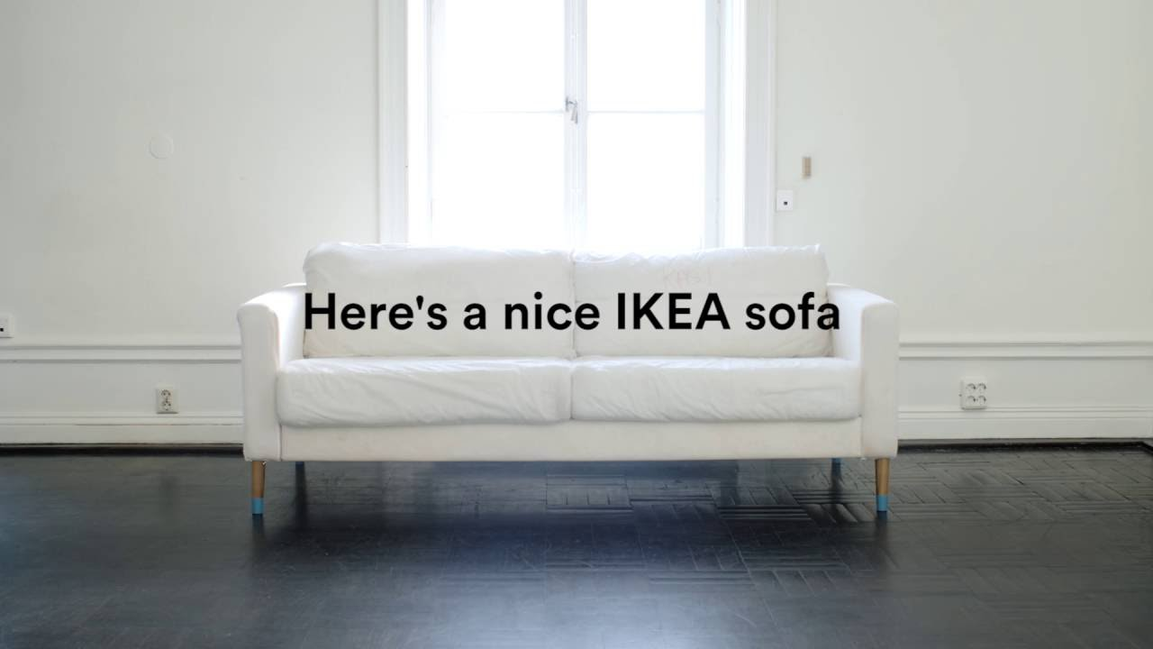 Update Your IKEA Karlstad Sofa With A Bemz Cover