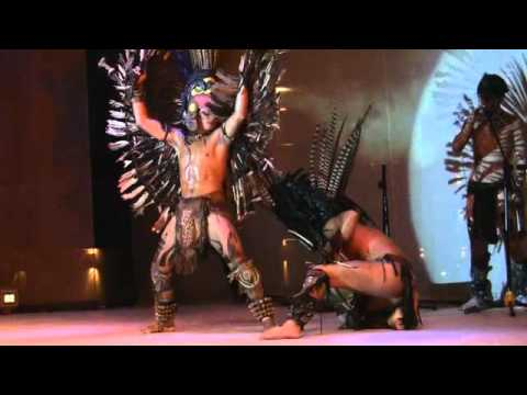 Native American Dance at the Moon Palace in Cancun, Mexico