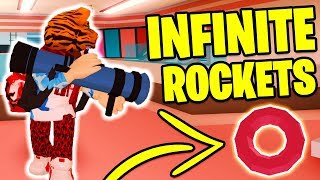 Jailbreak INFINITE ROCKETS Glitch! UNLIMITED Rockets! | Roblox Jailbreak NEW UPDATE