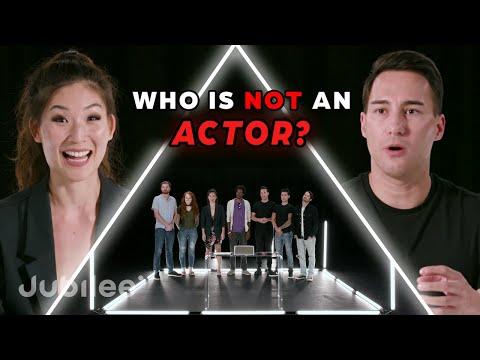 6 Actors vs 1 Fake Actor | Odd Man Out