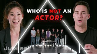 6 Actors vs 1 Fake Actor | Odd Man Out