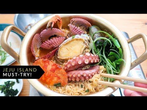 Jeju Island's Spicy Seafood Ramen.