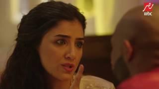 الأسطورة | حلقة 17 | مشهد كوميدي بين شهد و ناصر...لكنها تشعر بأنه سيتزوج عليها