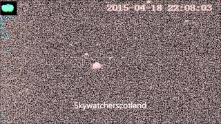 Big slow ufobjects over Dunbar and firth of forth area April 2015