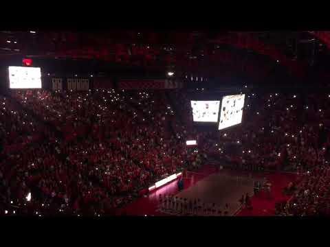 Nebraska volleyball lights up Devaney