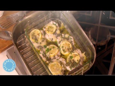 Swordfish And Zucchini - Kitchen Wisdom - Martha Stewart