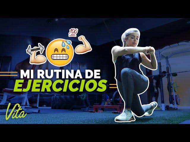 Mi rutina de Ejercicios 🏋 | Vita Healthy & Fit | Vita Vlog