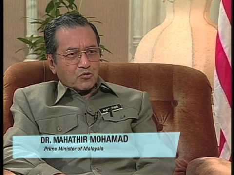Interview With Dr  Mahathir Mohamad Part Two