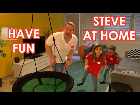 Have Fun With Steve And Maggie At Home