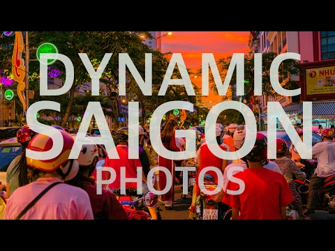 Dynamic Saigon (Hochiminh) Travel 4K Photos 2017