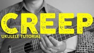 Creep - Radiohead (EASY UKULELE TUTORIAL) - rock and roll music ukulele