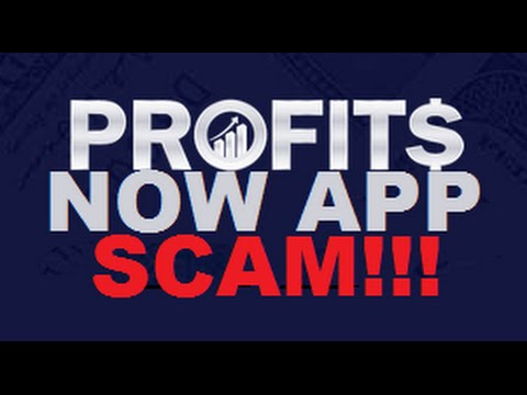 Profits Now Trading App Review - SCAM EXPOSED - WARNING!