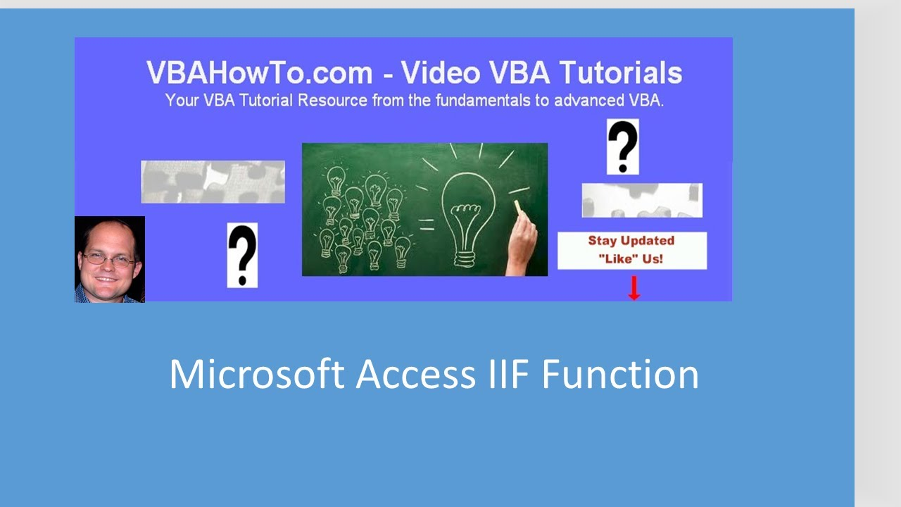 Microsoft Access IIF Function