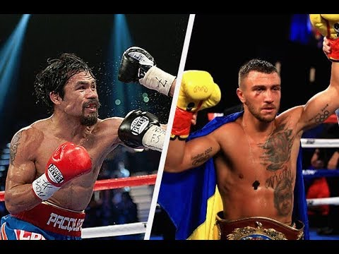 WOW!!!  MANNY PACQUIAO WANTS VASLY LOMACHENKO THIS YEAR