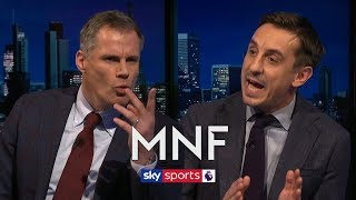 Neville and Carragher argue over their Premier League Team of the Decade | MNF