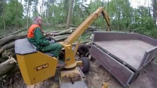 Deutz Traktoren im Wald