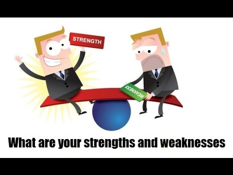 How To Answer The Question What Are Your Strengths And Weaknesses