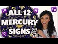 Everything You NEED To Know About Your MERCURY Sign | 2019