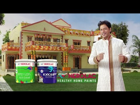 Nerolac Paints New Wedding Tv Ad 2016 With Shahrukh Khan