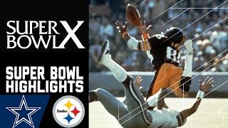 Cowboys vs. Steelers Super Bowl X Recap   NFL