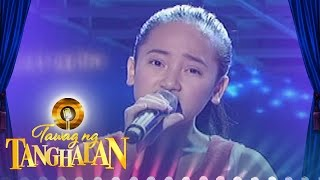 Repeat youtube video Tawag ng Tanghalan: Zaira Marie Alquizalas   Salamat