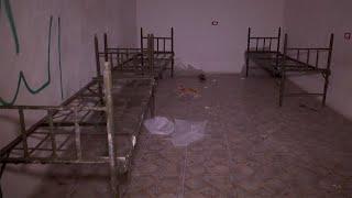 Подземные убежища боевиков в Сирии
