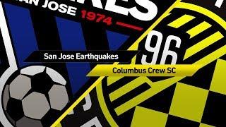 Video Gol Pertandingan San Jose Earthquakes vs Columbus Crew SC