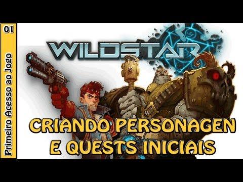 WILDSTAR GAMEPLAY – Criação de personagem, quests iniciais e tutorial