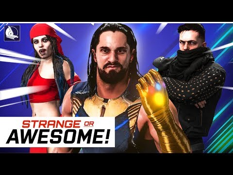WWE 2K18 Strange or Awesome | V19
