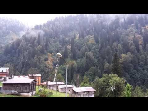 Natural Ayder Plateau Video, Rize Turkey