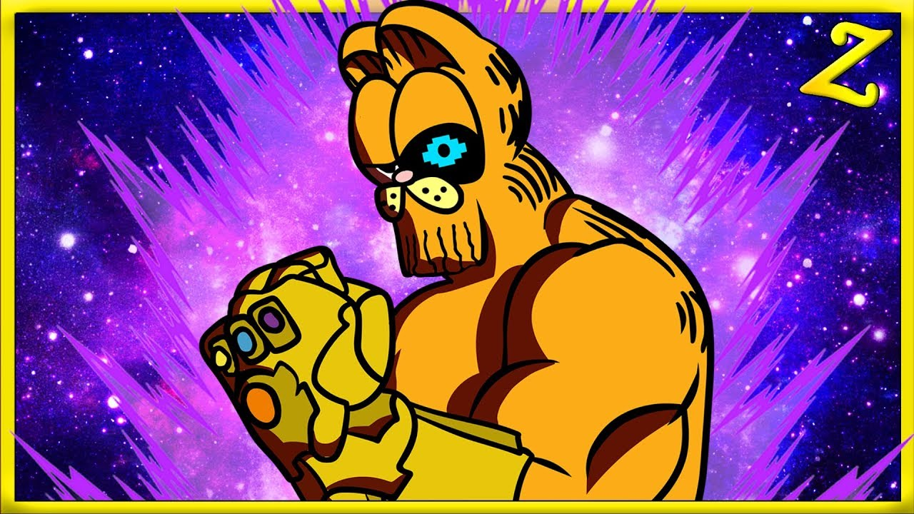 Garfield Thanos Sans Minecraft Would You Rather Youtube
