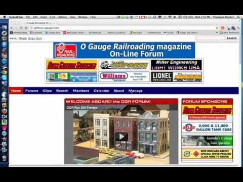 O Gauge Railroading Forum Tutorial Part 1