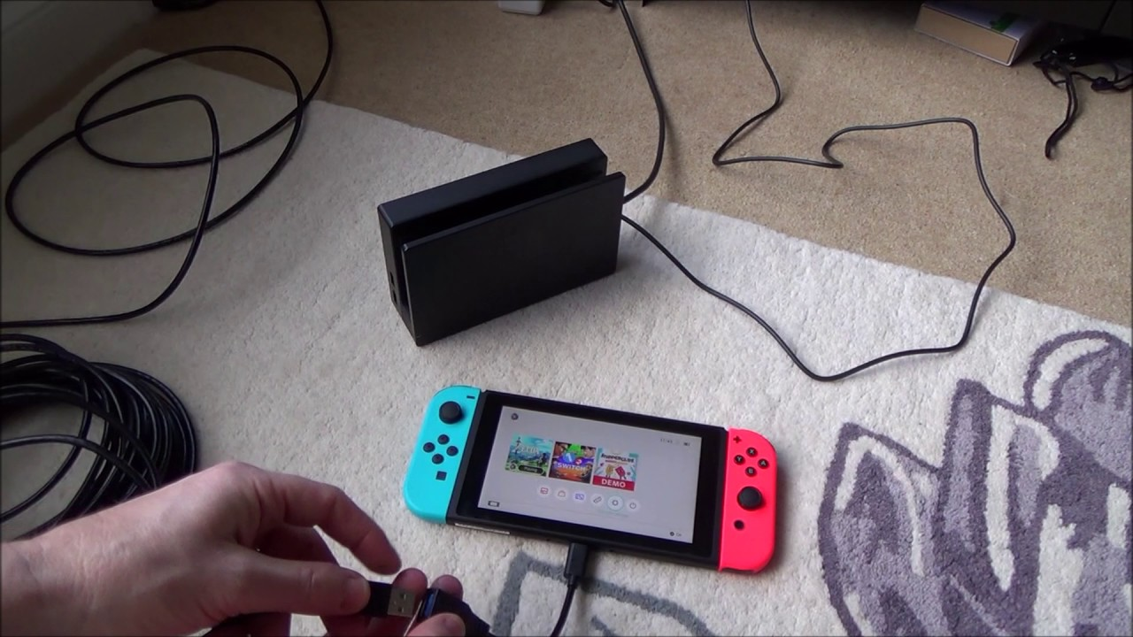 How to connect the nintendo switch tablet directly to a wired how to connect the nintendo switch tablet directly to a wired ethernet connection without the dock keyboard keysfo Choice Image