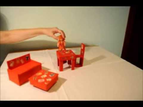 Pack miniaturas de cart n lilou y lucie youtube - Como se tapiza una silla paso a paso ...